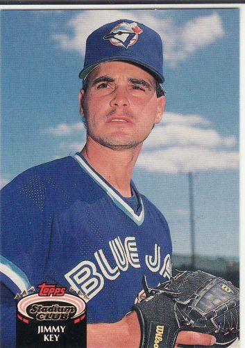 1992 Stadium Club #259 - Jimmy Key - Blue Jays