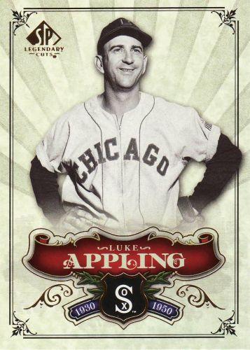 2006 SP Legendary Cuts #58 - Luke Appling - White Sox