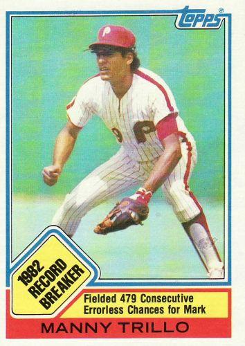 1983 Topps #5 - Manny Trillo - Phillies