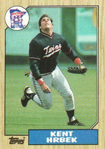 1987 Topps #679 - Kent Hrbek - Twins