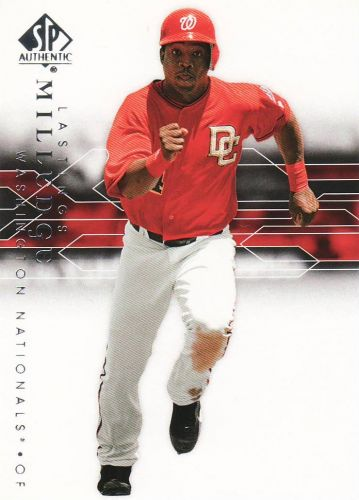 2008 SP Authentic #84 - Lastings Milledge - Nationals