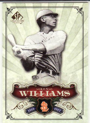 2006 SP Legendary Cuts #6 - Ken Williams - Browns