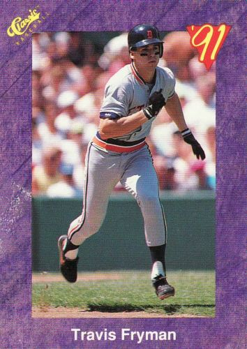 1991 Classic Game #124 - Travis Fryman - Tigers
