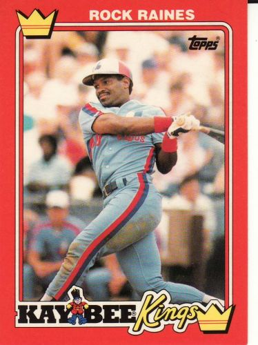 1990 Kay-Bee #24 - Tim Raines - Expos