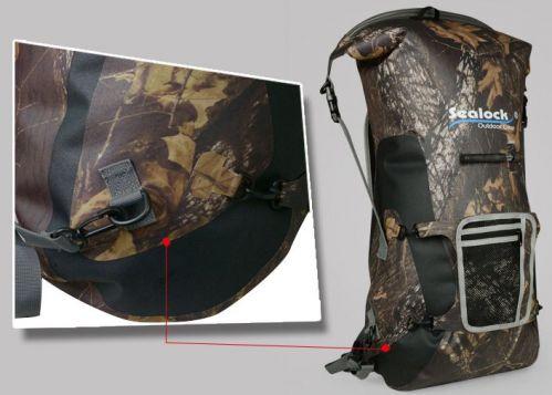 sealock full camouflage airtight waterproof hiking backpack