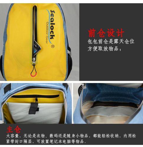 sealock lightweight waterproof large capacity backpack