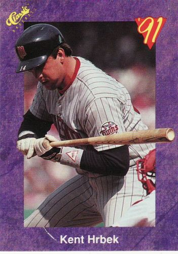 1991 Classic Game #118 - Kent Hrbek - Twins