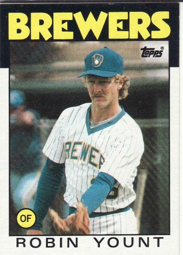 1986 Topps #780 - Robin Yount - Brewers