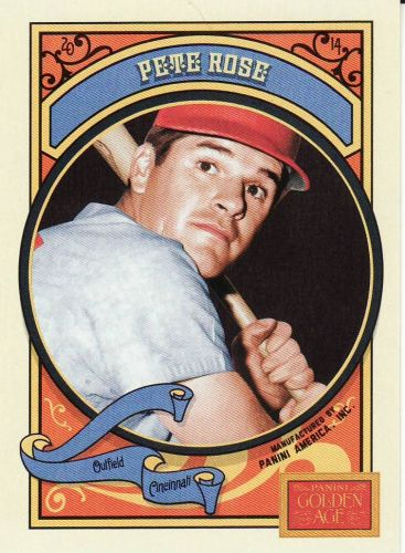 2014 Panini Golden Age #86 - Pete Rose - Reds
