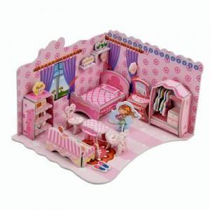 3D Super Puzzle - Bedroom