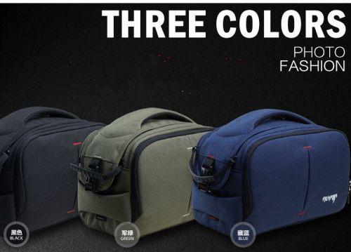Mekava professional photography digital SLR camera shoulder messenger bag with rain