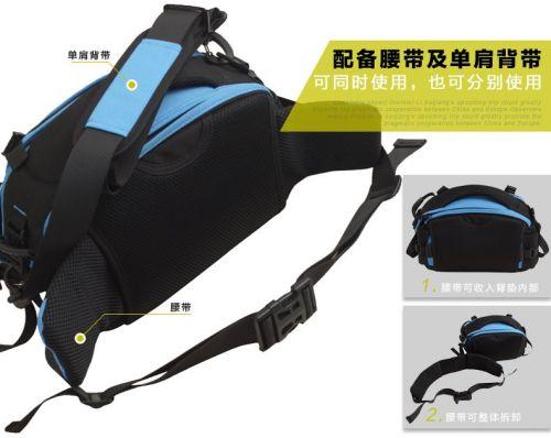 Mekava photography versatile outdoor SLR camera shoulder chest bag