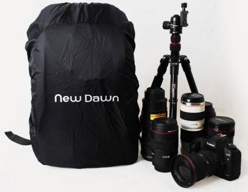 newdawn SLR digital camera professional photography backpack with rain cover
