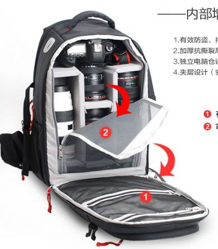 newdawn professional SLR photography large capacity 15.6-inch laptop backpack