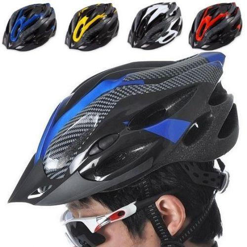 Adult Bike Bicycle Cycling Helmet with Head Lock & Adjustable Visor