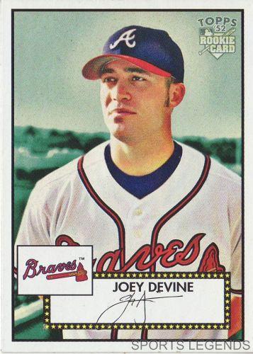 2006 Topps 52 Style #124 Joey Devine
