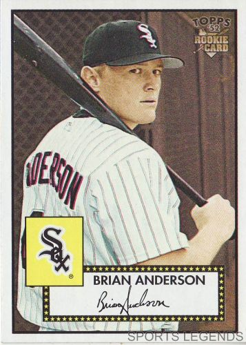 2006 Topps 52 Style #127 Brian Anderson