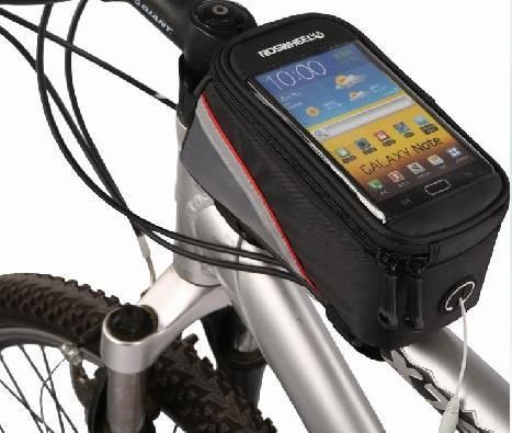 Touch Screen Smart Phone Pouch Cycling Bicycle Bike Bag