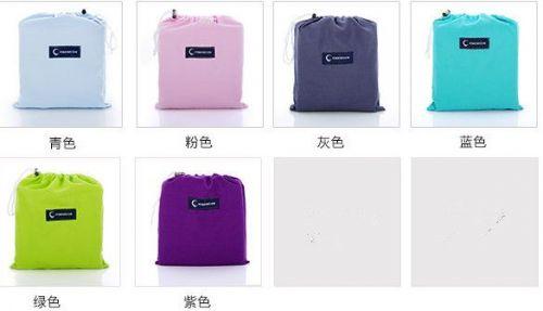 Portable Indoor outdoor travel folding single sleeping bag