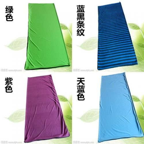 Lightweight portable outdoor travel camping fleece thick sleeping bag