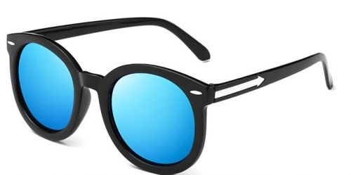 Korean 2016 new retro round sunglasses