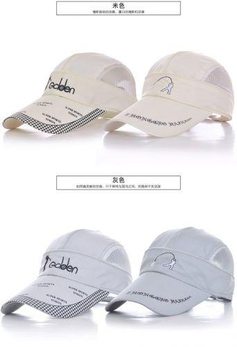 2ways unisex outdoor tennis fishing baseball cap and empty top cap
