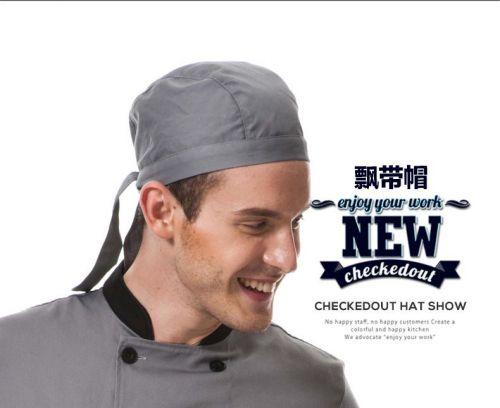 kitchen hotel restaurant unisex streamers staff working chef's hat