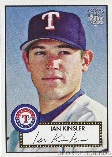 2006 Topps 52 Style #149 Ian Kinsler