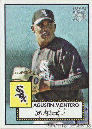2006 Topps 52 Style #151 Agustin Montero