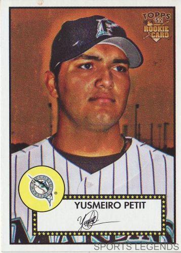 2006 Topps 52 Style #154 Yusmeiro Petit