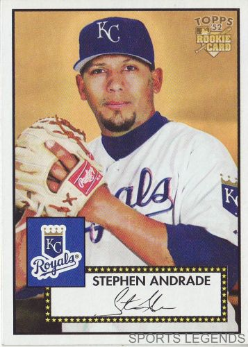 2006 Topps 52 Style #157 Stephen Andrade