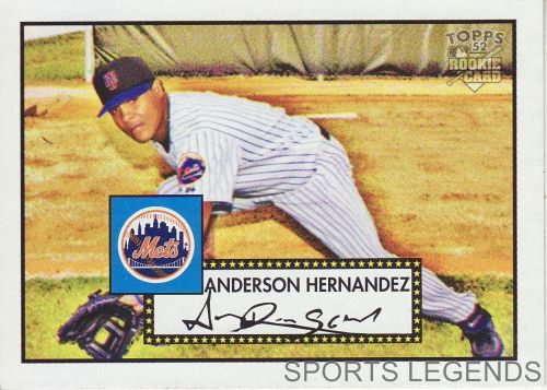 2006 Topps 52 Style #160 Anderson Hernandez