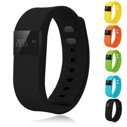 Bluetooth Tracker Activity Step & Sleep Pedometer Wristband Bracelet Smart Watch