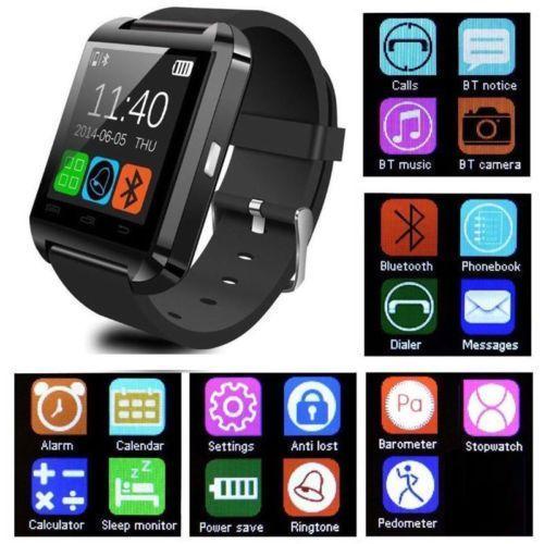 Bluetooth Smart Wrist Watch Phone Mate