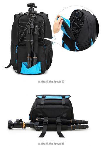 Coress photography digital SLR camera laptop backpack with rain cover