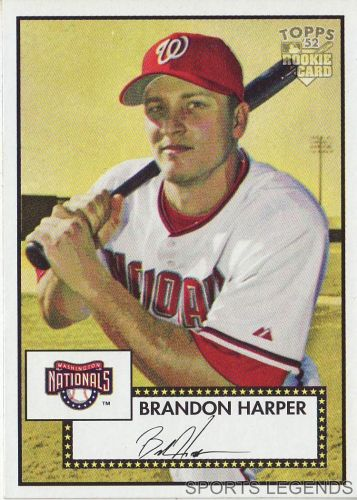 2006 Topps 52 Style #209 Brandon Harper