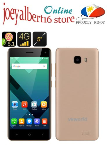 VKWorld T5-SE Smartphone - 5 Inch HD Screen, Android 5.1, 4G/3G/2G, Bluetooth 4.0