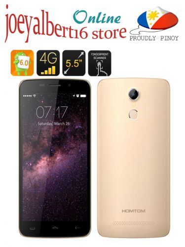 HOMTOM HT17 Android 6.0 Smartphone - 5.5 In.1280x720 Scrn, MTK6737 Quad Core,4G/3G/2G