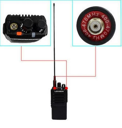 2X Walkie Talkie LEIXEN-NOTE UHF 400 480MHz 20W 16CH VOX Scan TOT Two Way Radio