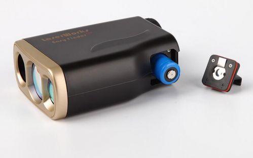 Waterproof Golf Laser Rangefinder 1000M Laser Speed Distance Meter Pin seeker