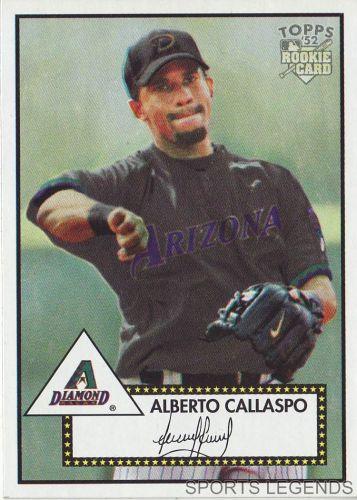 2006 Topps 52 Style #223 Alberto Callaspo