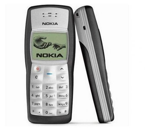 New Mint Nokia 1100 Mobile Classic Cell Mobile Phone Flashlight Unlocked Black