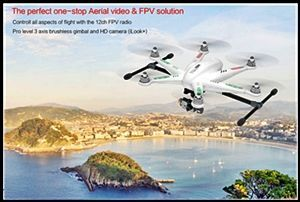 Walkera TALI H500 Hexrcopter with iLook+ Camera & FPV Transmitter & 3D Gimbal