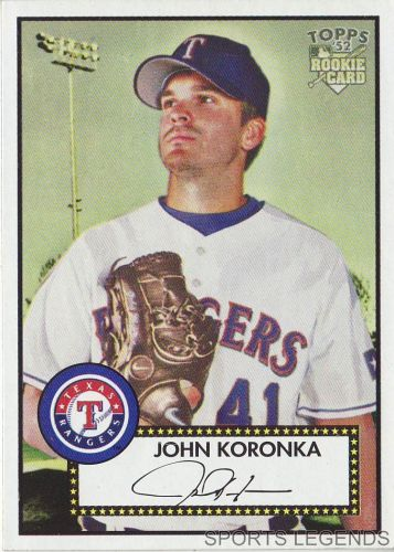 2006 Topps 52 Style #263 John Koronka
