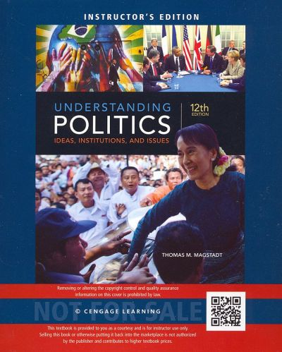 NEW Understanding Politics: Ideas, Institutions, and Issues 12th INSTRUCTOR'S Ed