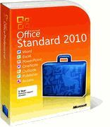 Microsoft Office Standard 2010 with SP2 (32/64-bit) - 1 Install (Download Delivery)