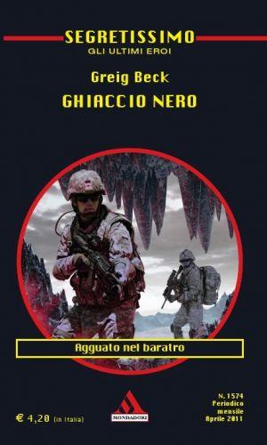 Italian libro Segretissimo Ghiaccio nero