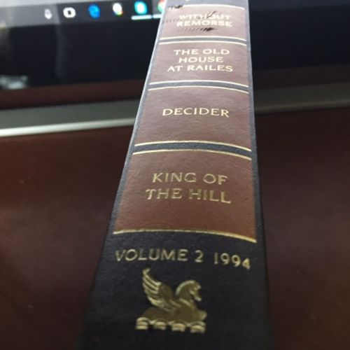 Reader's Digest Condensed Books -- Volume 2, 1994 -- Without Remorse / The Old House