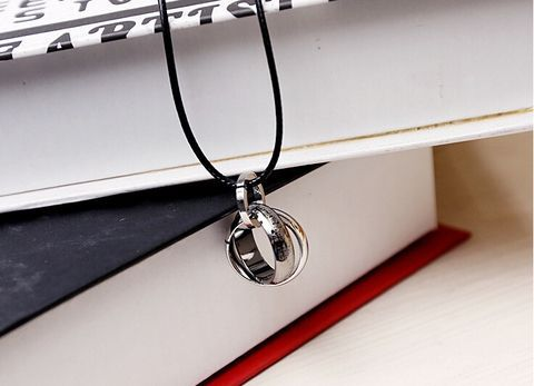 fashion women3 RINGS necklace