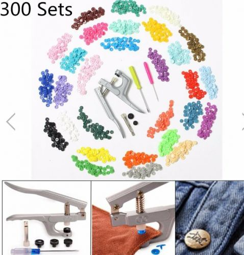 snap plier set and 300 sets buttons